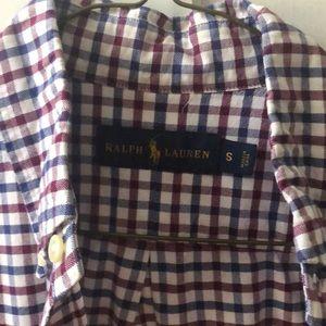 Ralph Lauren Shirts - Ralph Lauren red white and blue button down